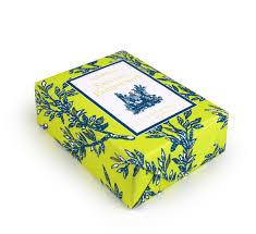 paper wrapped soap parisienne classic toile paper wrapped bar soap