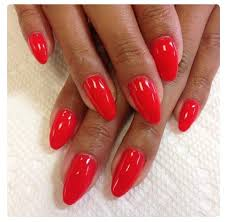 the 25 best red gel nails ideas on pinterest red summer nails