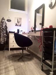 hair salon at home ikea hack make up corner pinterest ikea