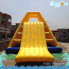 pin by seanea zhan on inflatable floating water slide pinterest