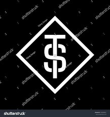 Types Of Business Letters And by St Letters Monogram Logo Great Logo Stock Vector 720608467