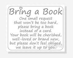 bring book instead of card to baby shower baby shower invitations bring a book instead of card yourweek