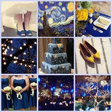 themed wedding ideas vows the starry gogh themed wedding ideas