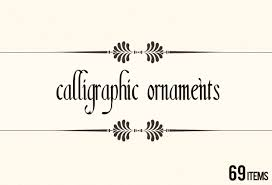get 600 vector calligraphic ornaments page decorations bonus