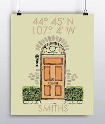 New Home Gift by Amazon Com Custom Housewarming Gift Latitude Longitude New Home