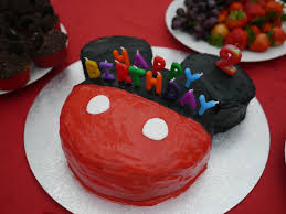 use marshmallows as the buttons 1 large round cake and 2 smaller