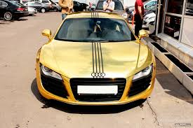 audi r8 gold gold cars