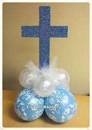 Baptism Decorations Boy The 25 Best Christening Balloons Ideas On Pinterest Party