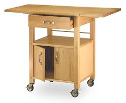 Wheeled Kitchen Island Amazon Com Winsome Wood Drop Leaf Kitchen Cart Bar U0026 Serving Carts
