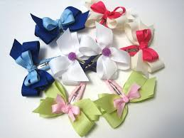 how to make hair bows for funky hair bow tutorial