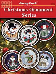 stoney creek ornament series 2001 cross stitch
