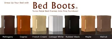 Bed Frame Foot Bed Boots Bed Frame Leg Covers Or Spray Paint Cans For Wheels To