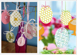 easter ornaments diy easter decorations 2015