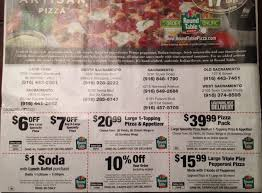 round table arena blvd the valid coupon that i got in the mail and manager kenny at the