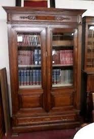 oak bookcases with glass doors antique american oak display cabinet bookcase vitrine 2 arched