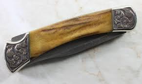 engraved buck knives engraved buck 110 david sheehan engraver