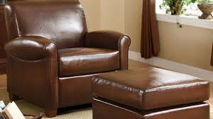 Brown Leather Chair With Ottoman Brilliant Adorable Leather Chair With Ottoman Metropolitan Faux