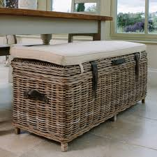 Outdoor Patio Cushion Storage Bench by Bench Wicker Storage Benches Storage Benches Baskets Amazing