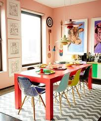 dining room table makeover ideas colorful dining room tables 1000 ideas about peach walls on