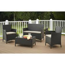 Patio Furniture Set by Patio Furniture Sets Clearance Sale Costco Patio Resin Wicker