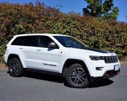 jeep grand cherokee 2017 blacked out 2017 jeep grand cherokee trailhawk 5 7 hemi road test the car magazine