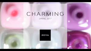 zoya nail polish charming for spring 2017 youtube