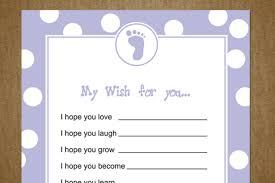 7 best images of printable wishes for baby shower printable baby