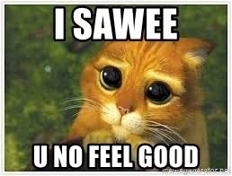 Kitty Meme Generator - i sawee u no feel good sad kitty cat meme meme generator