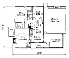 farmhouse style house plan 2 beds 2 00 baths 1072 sq ft plan 57 333