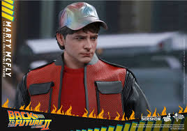 Marty Mcfly Costume Back To The Future Marty Mcfly Sixth Scale Figure By Toy