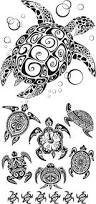 turtle in ocean tattoo stencil photos pictures and sketches