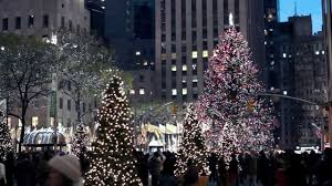 christmas lights and decorations in new york city youtube