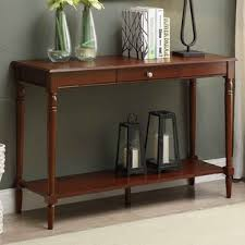 Oak Sofa Table Oak Console Sofa Tables You Ll Wayfair
