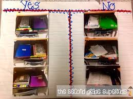Organized Desks The Second Grade Superkids Bright Ideas Student Desk Organization