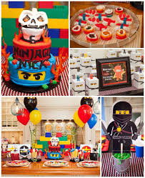 ninjago party supplies kara s party ideas ninjago themed birthday party planning ideas