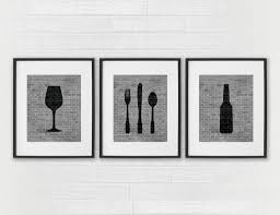 kitchen wall art design ideas top black and white kitchen wall