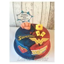 superman vs wonder woman cake luster cakes best cake maker