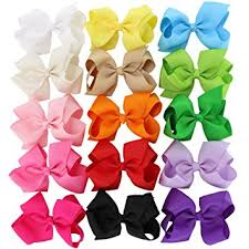hair bow 4 5in hair bows grosgrain ribbon baby large