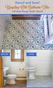 bathroom stencil ideas best 25 bathroom stencil ideas on kid bathroom decor