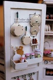 Interior Designing Kitchen Yes It U0027s Doll House Love Dollhouse Miniatures Pinterest