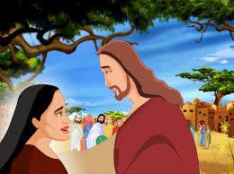 bible stories for kids jesus heals the bleeding woman spanish