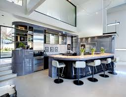 deco kitchen ideas deco design kitchen modern with split level curved island