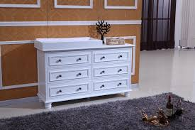 Detachable Changing Table Beata 6 Chest Of Drawers With Removable Change Table Top In White