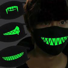 Glow Halloween Costume Glow Dark Mask Ebay
