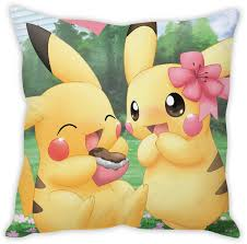 Cusion Cover Buy Stybuzz Pikachu Love Cushion Cover Online Best Prices In