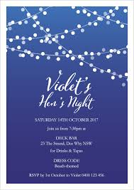 hen u0027s party invitations pre wedding events