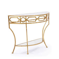 half round console table surprising half circle console table