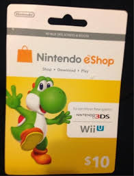 nintendo prepaid card free 10 nintendo eshop card for wii u 3ds only