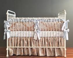 Silk Crib Bedding Set Silk Crib Bedding Etsy