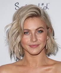 julianne hough shattered hair julianne hough medium wavy casual hairstyle light blonde